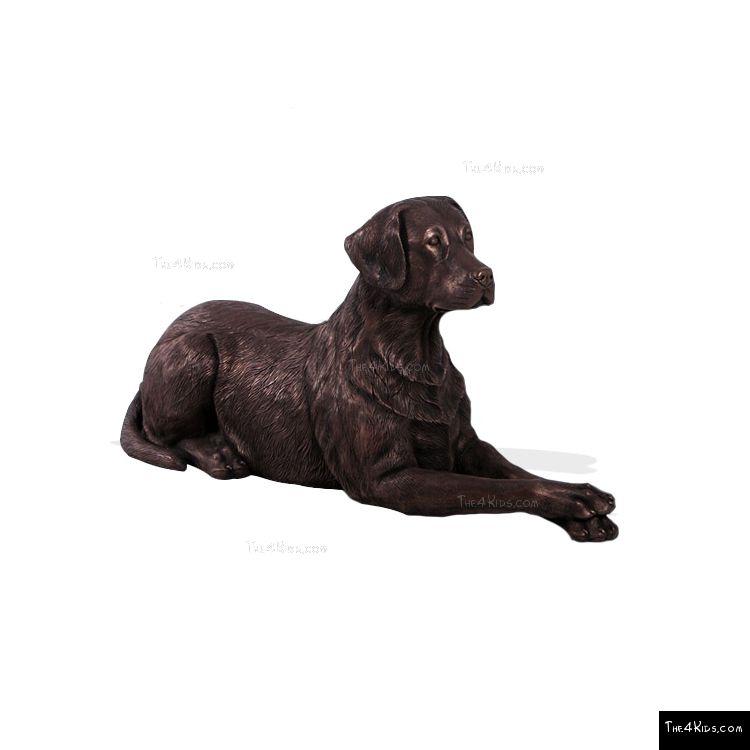 Image of Lying Labrador
