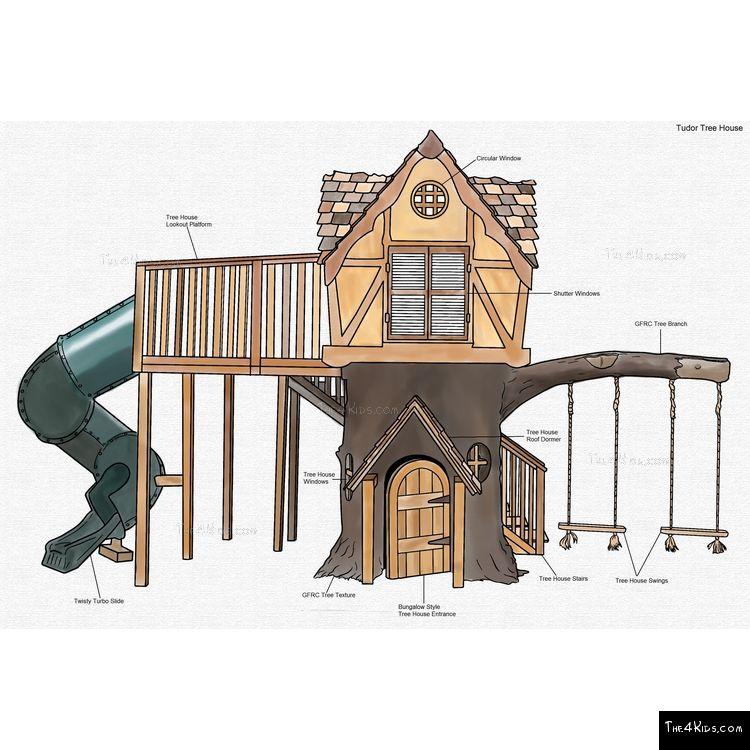 Image of Tudor Tree House