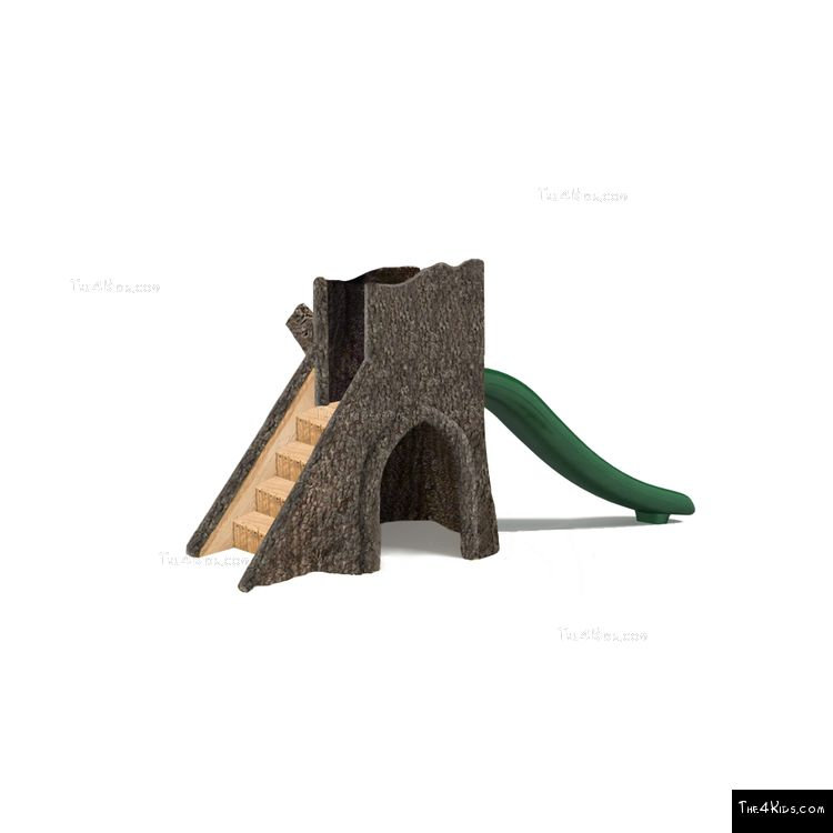 Image of Tree Stump Hollow w Slide