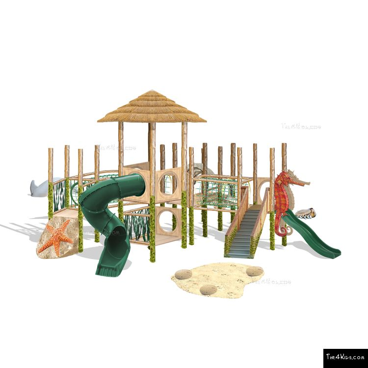 Image of Beach Playscape