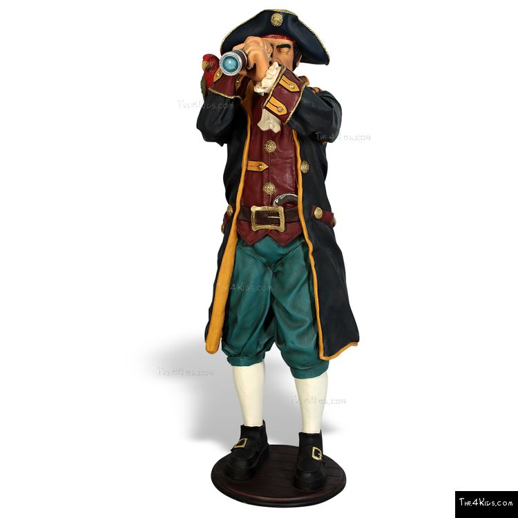 Image of Captain Kidd Sculpture