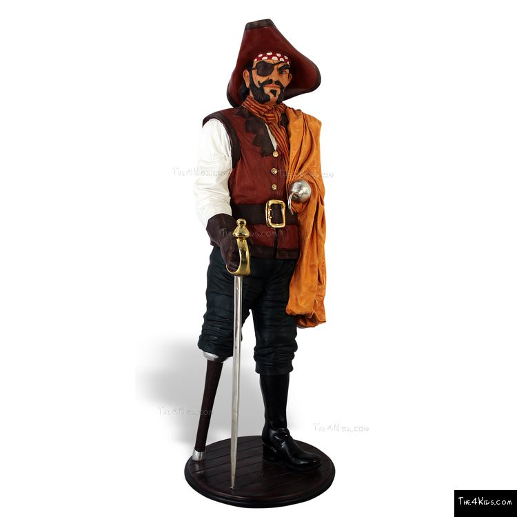 Image of Long John Silver Sculpture