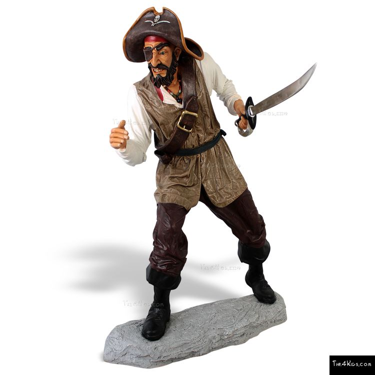 Image of Black Beard Sculpture