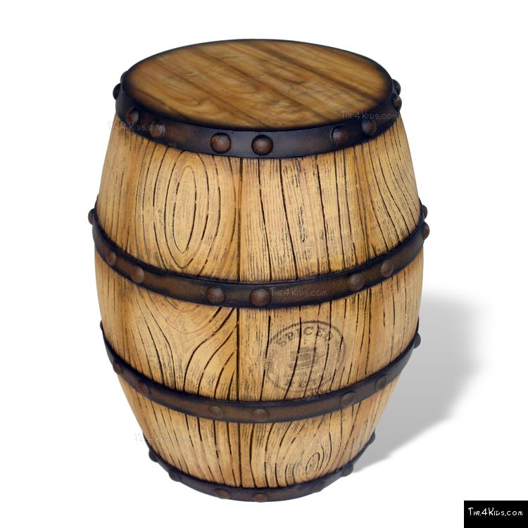 Image of Wooden Barrel