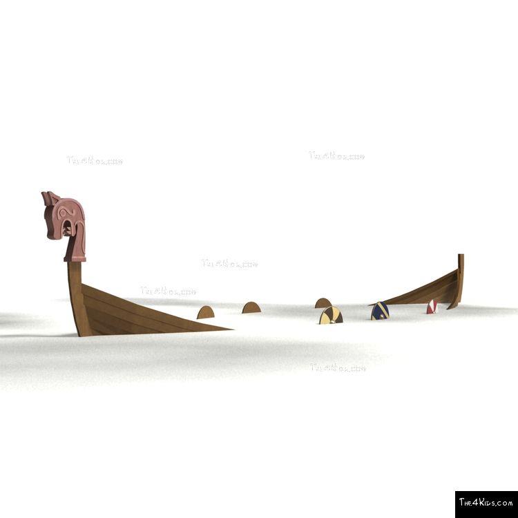 Image of Sunken Viking Ship
