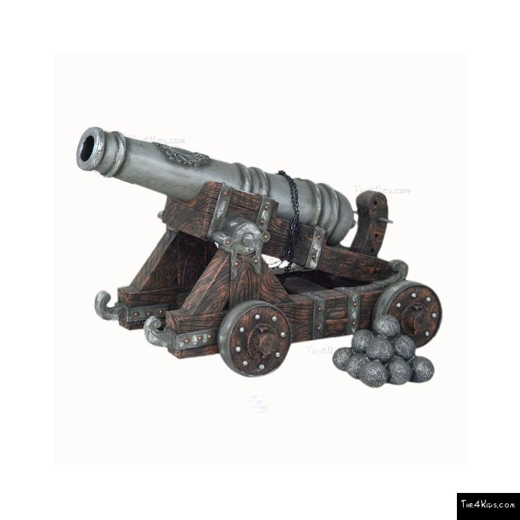 Image of Cannon with Cannon Balls