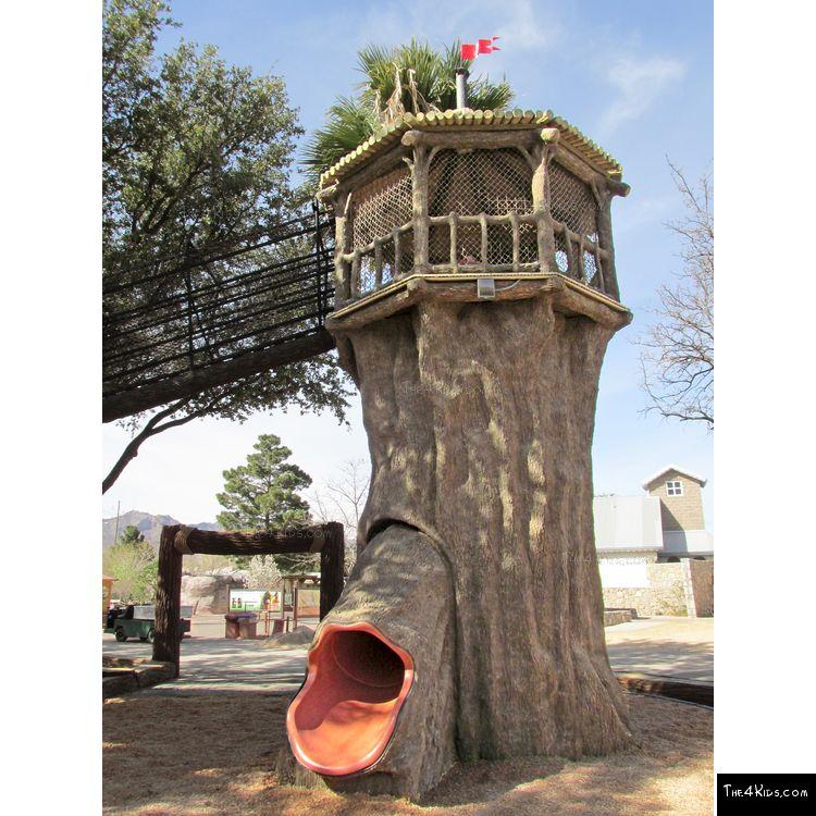 Image of Spiral Tree Slide Tower