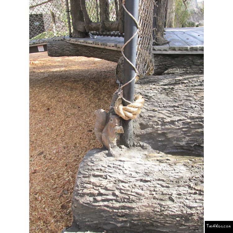 Image of Log Net Climber