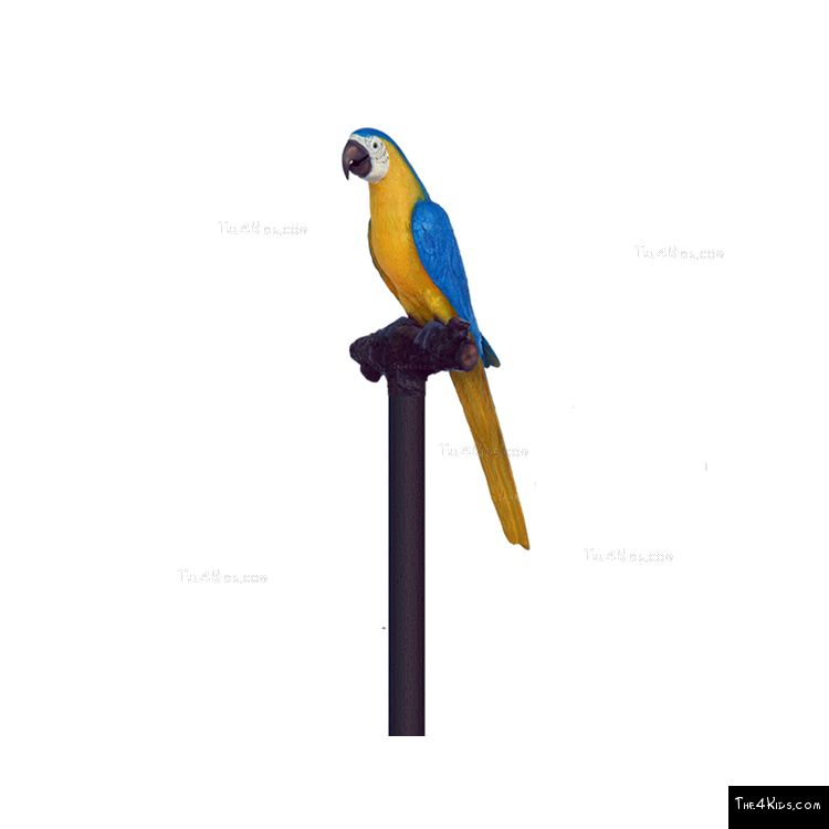 Image of Blue Gold Macaw Post Topper