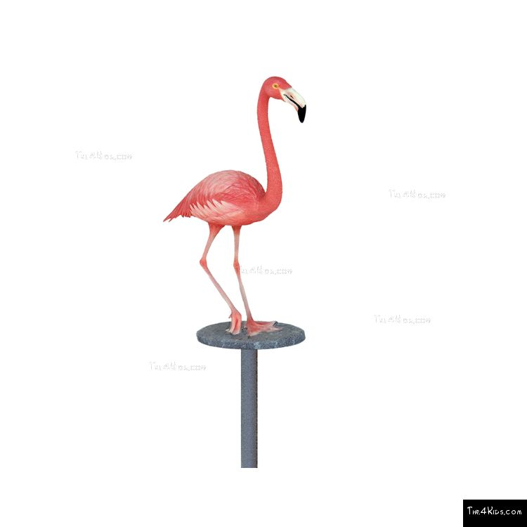 Image of Flamingo Post Topper