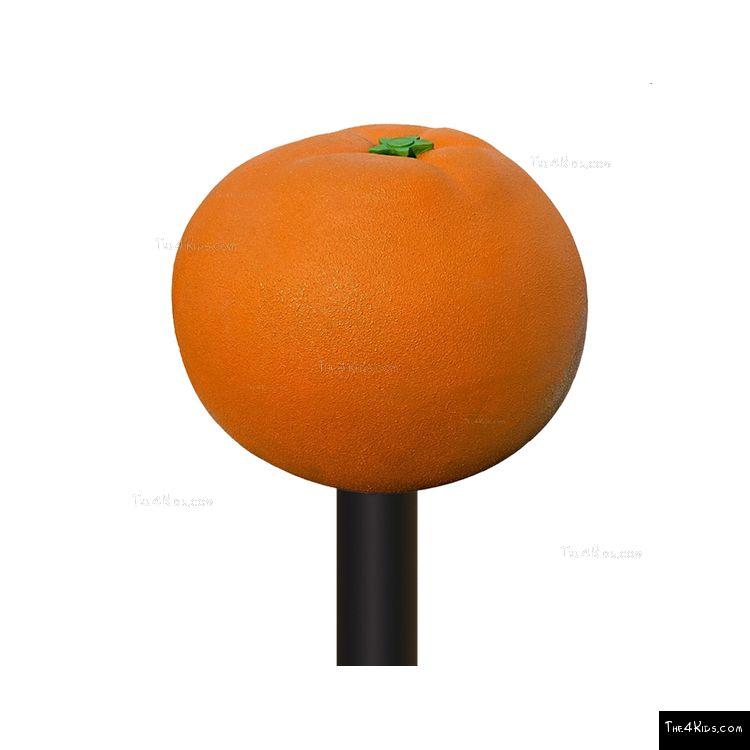 Image of Orange Post Topper