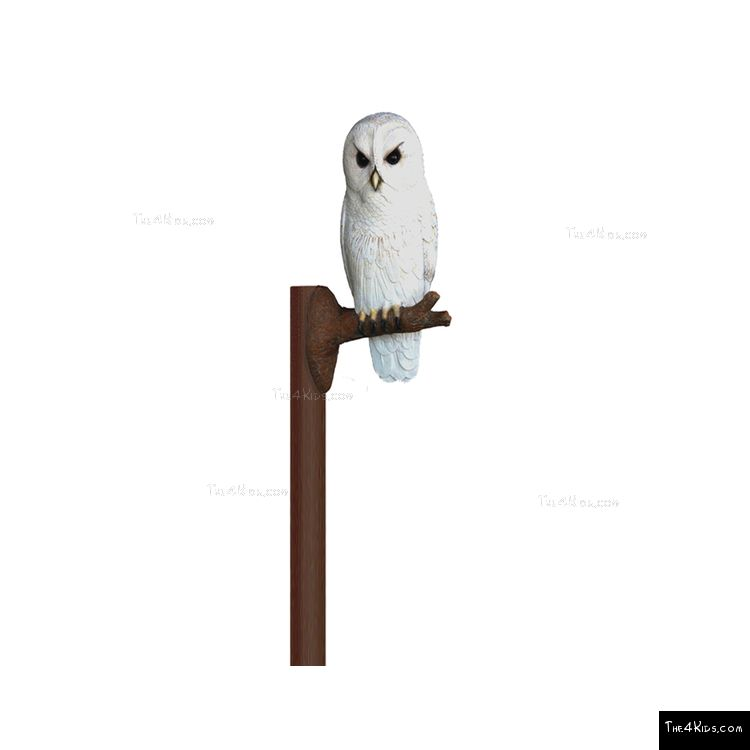 Image of Perched Owl Post Topper