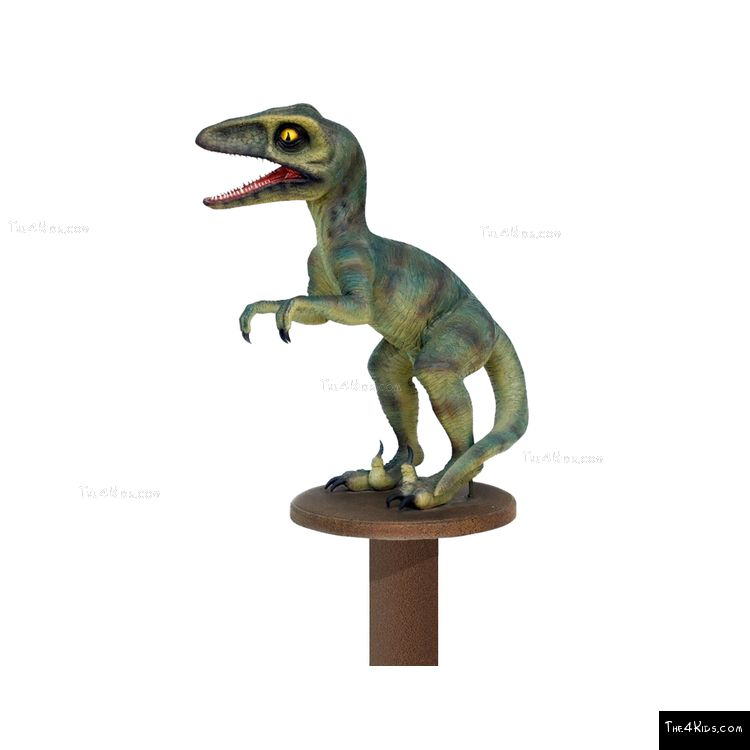 Image of Baby Deinonychus Post Topper