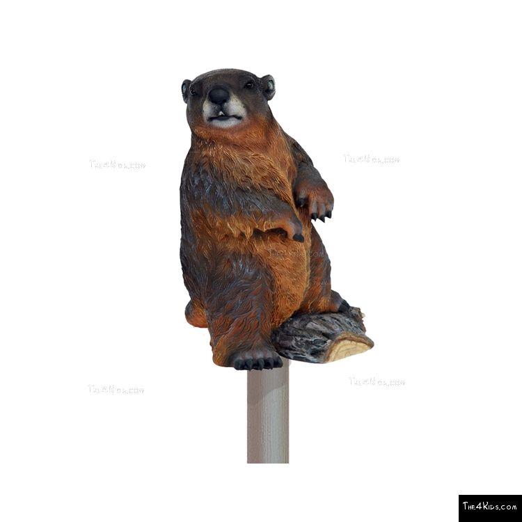 Image of Beaver Post Topper