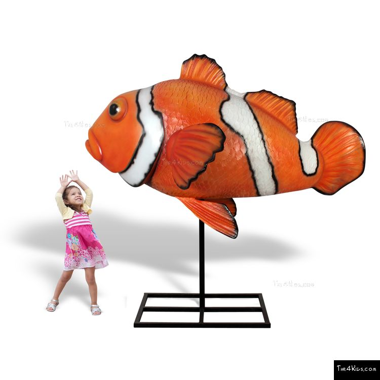 Image of Clown Fish Sculpture