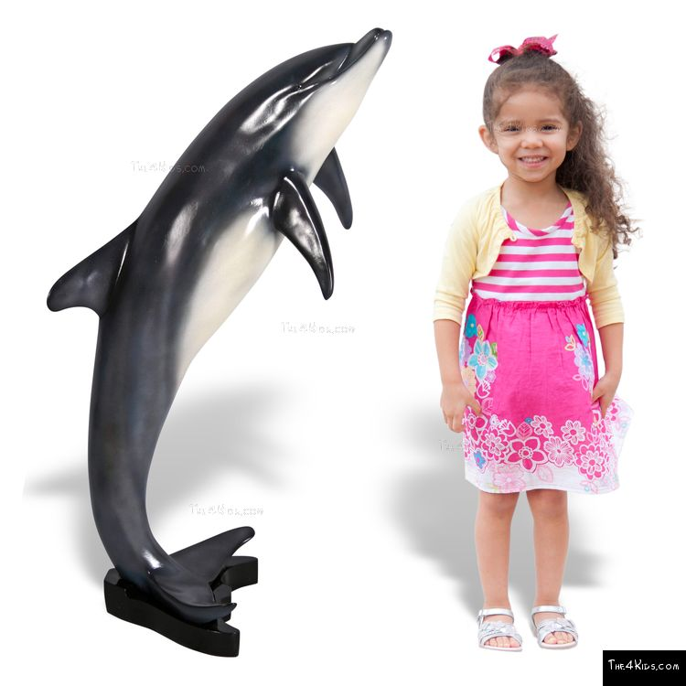 Image of Small Dolphin Sculpture