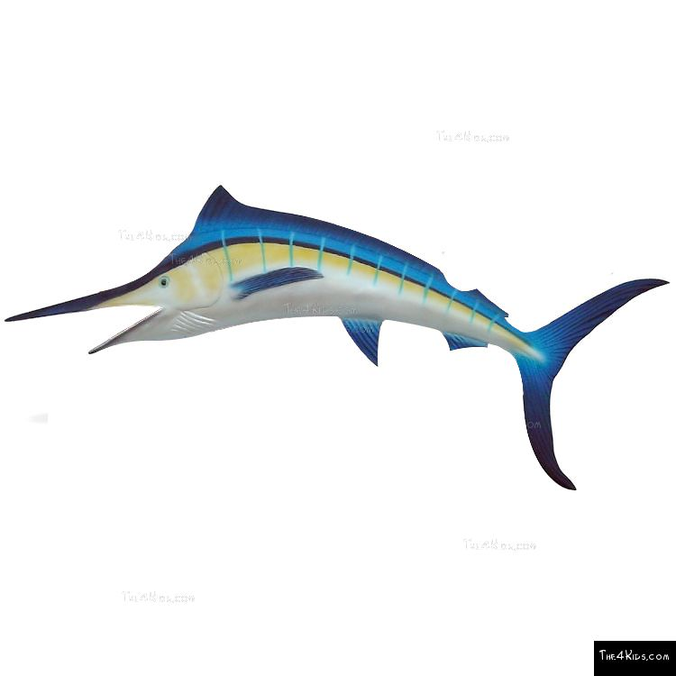 Image of Blue Marlin Sculpture