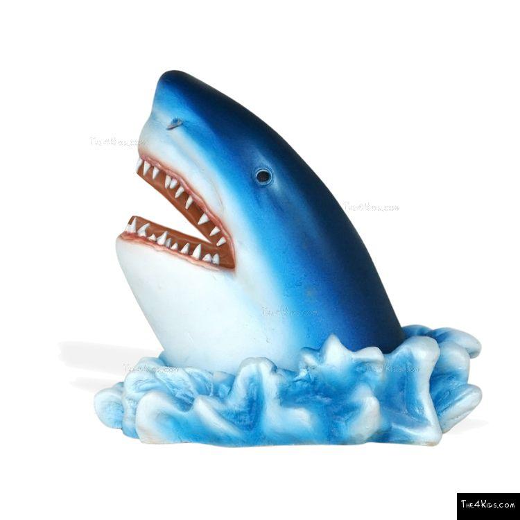 Image of Shark Head Sculpture