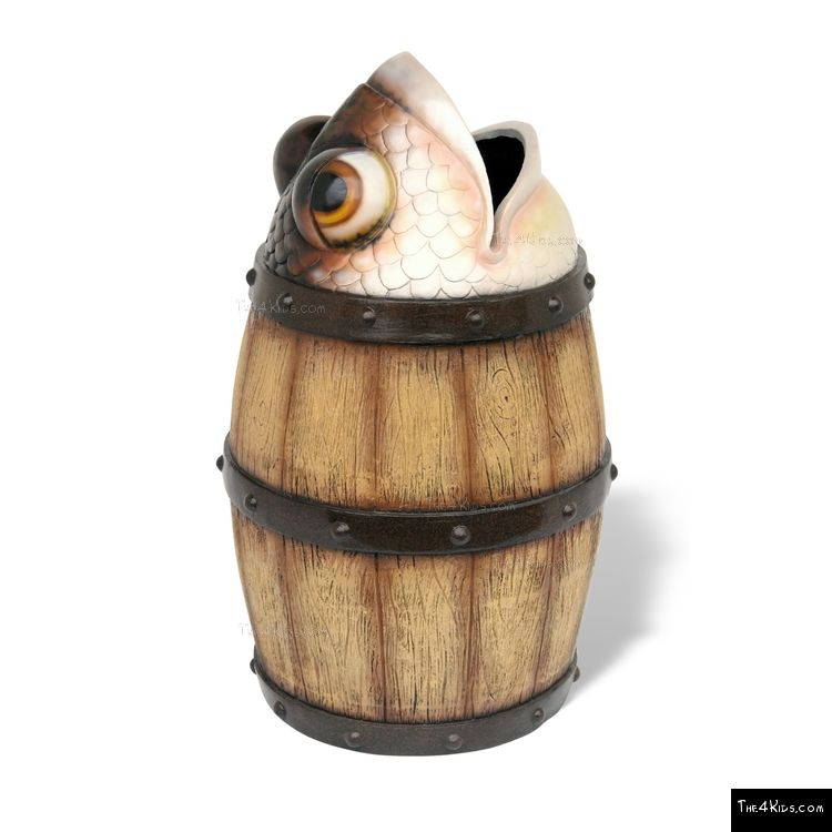 Image of Fish Barrel Trash Can