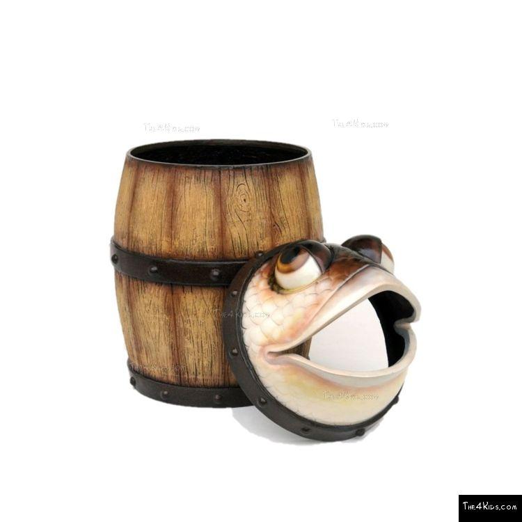 Image of Fish Barrel Trash Can