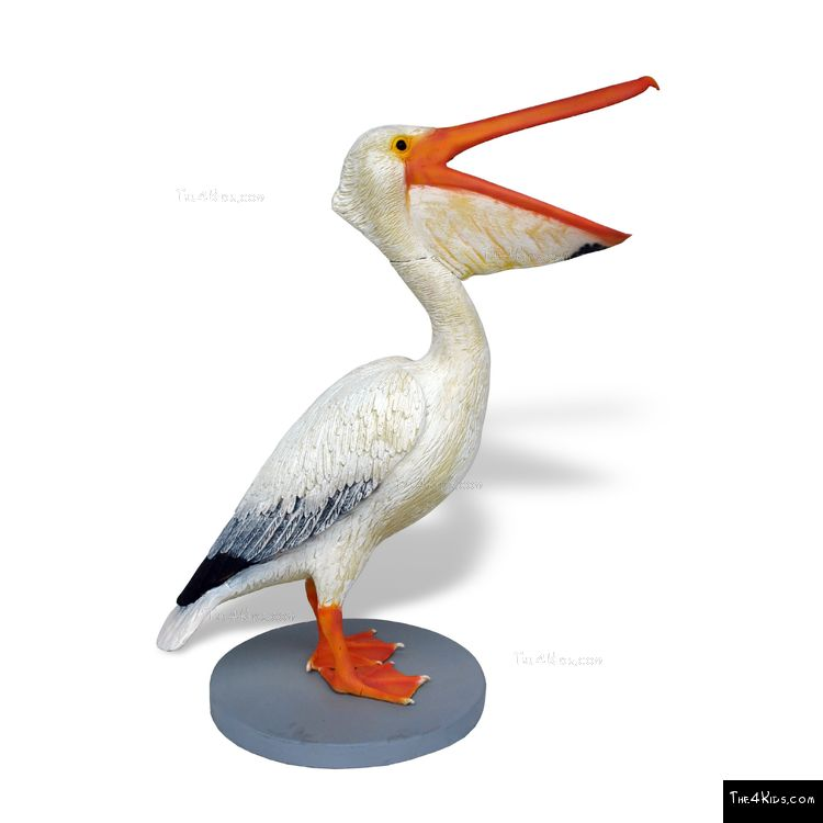 Image of Female Pelican Sculpture