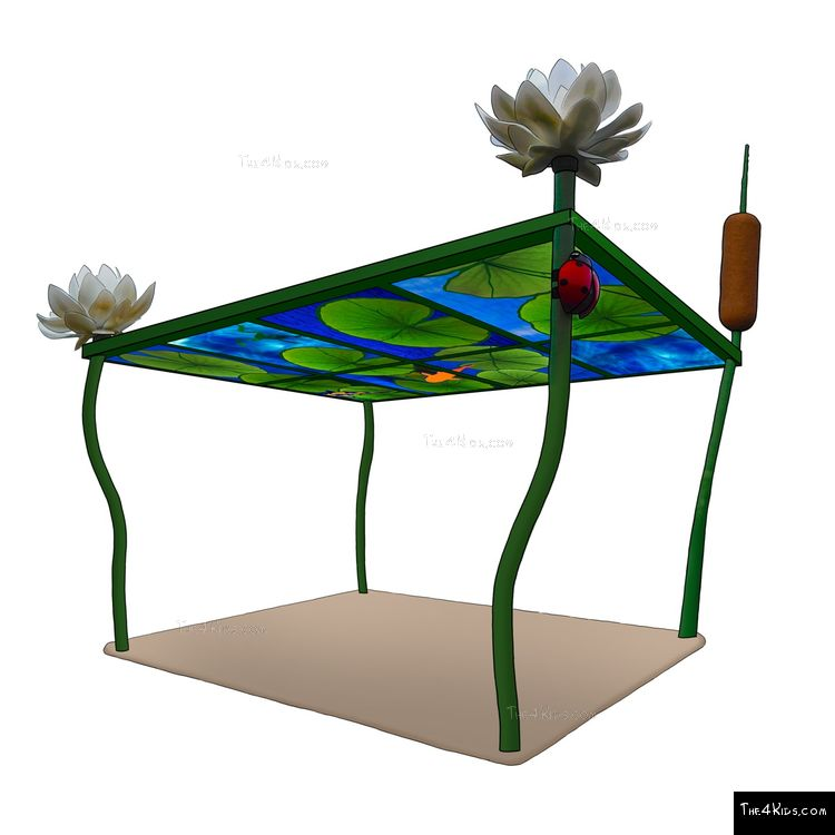 Image of Fish Pond Pergola