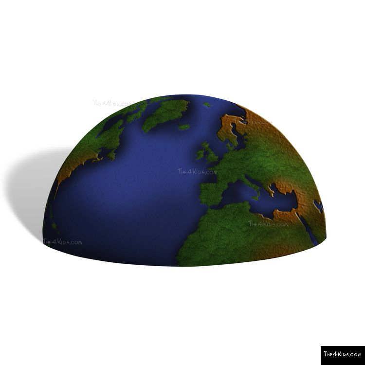 Image of Earth Space Sphere