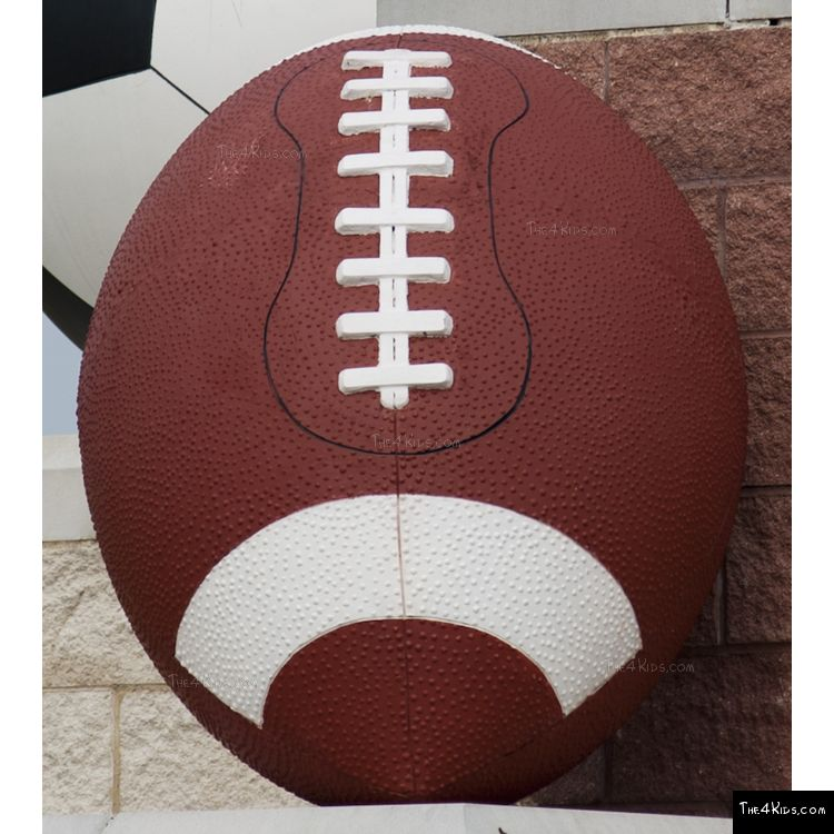 Image of Football Bollard