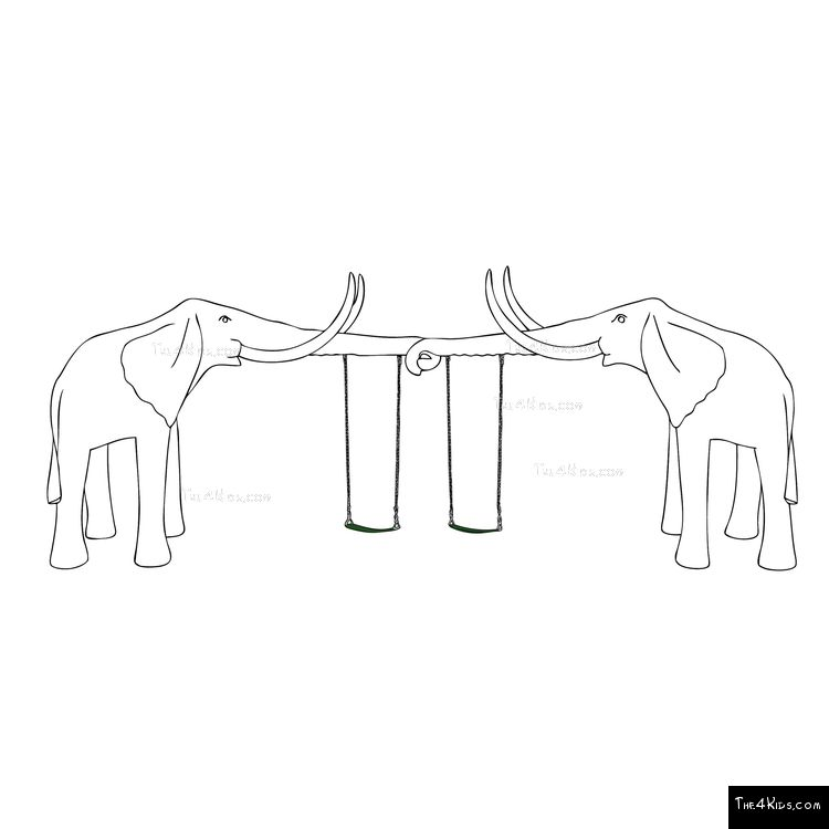 Image of Elephant Tusks Swings