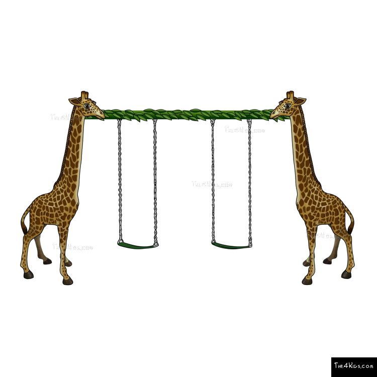Image of Giraffe Swing Set