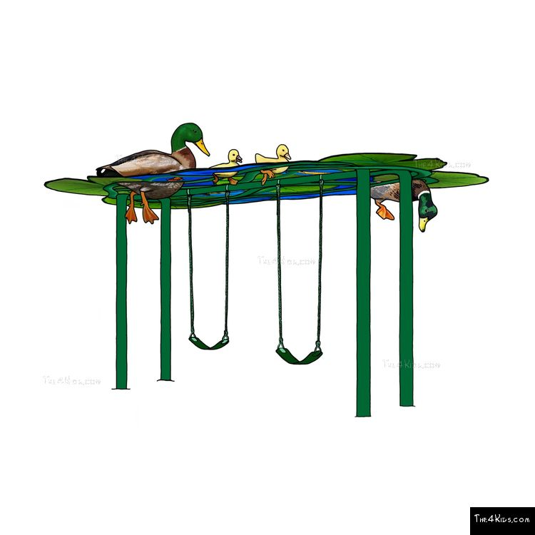 Image of Duck Pond Swing Set