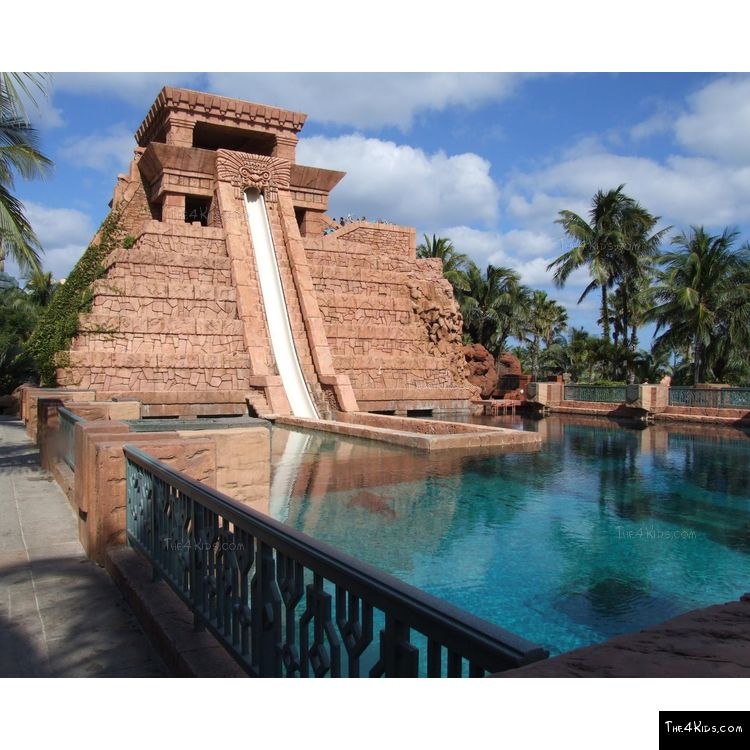 Image of Mayan Temple Water Slide