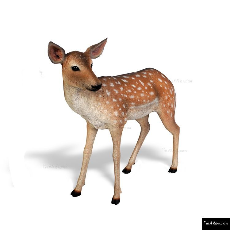 Image of Deer Fawn Sculpture