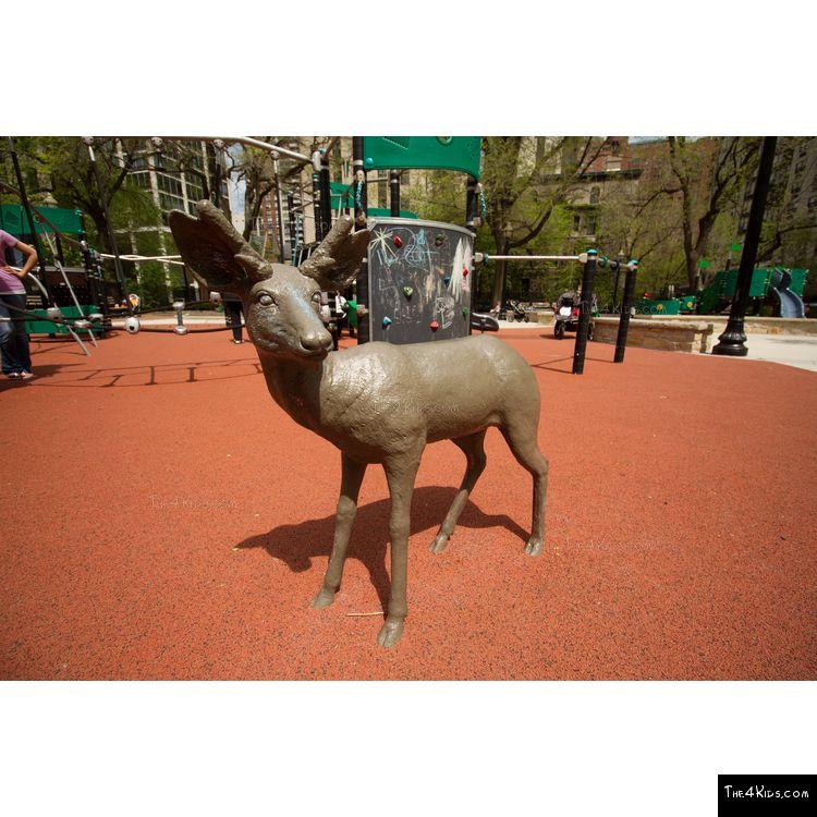 Image of Deer Fawn Sculpture