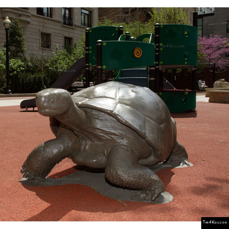 Image of Tortoise Play Sculpture