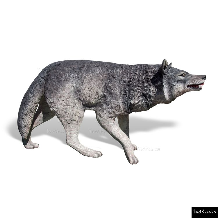 Image of Wolf Play Sculpture