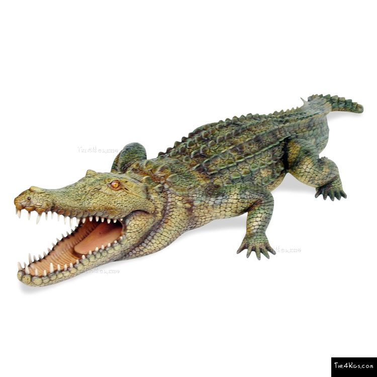 Image of 11ft Crocodile Sculpture