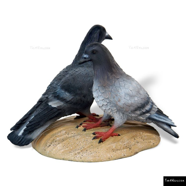 Image of Pair of Doves Sculpture