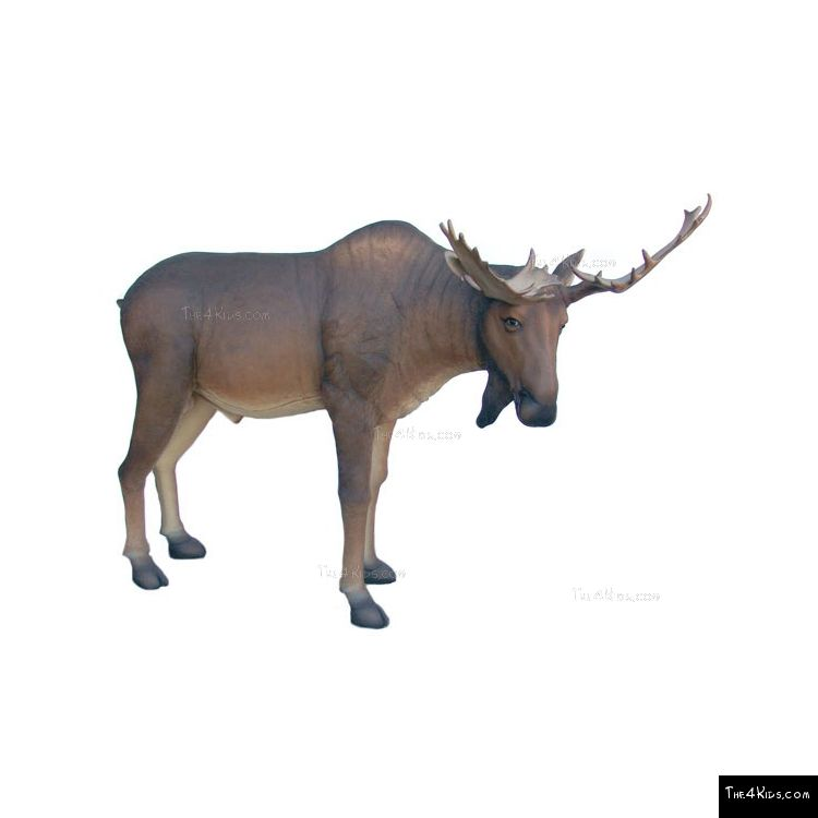 Image of Moose Sculpture