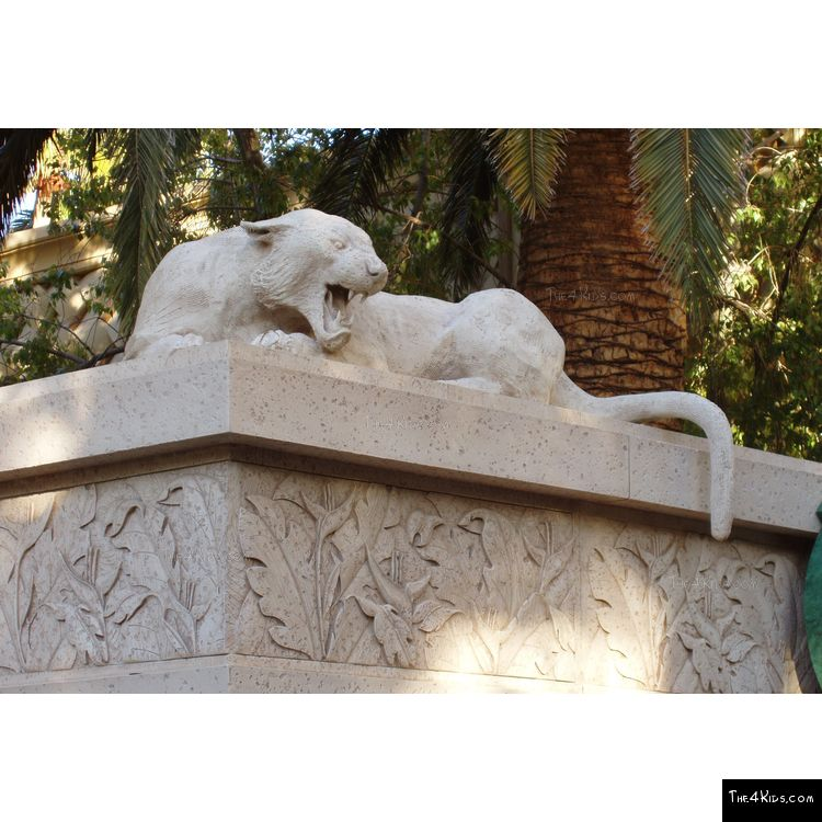 Image of Stone Animal Sculptures