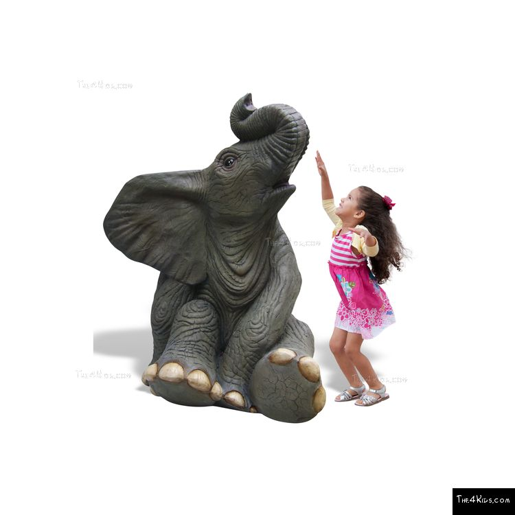Image of Elephant Play Sculpture