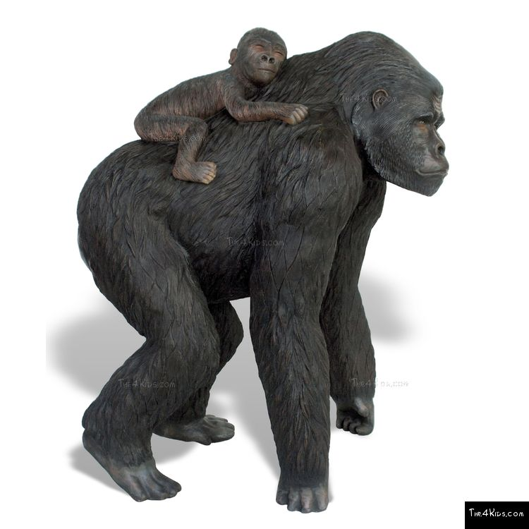 Image of Gorilla and Baby