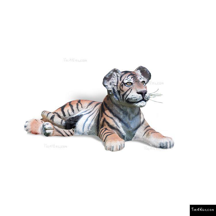 Image of Tiger Cub Lying