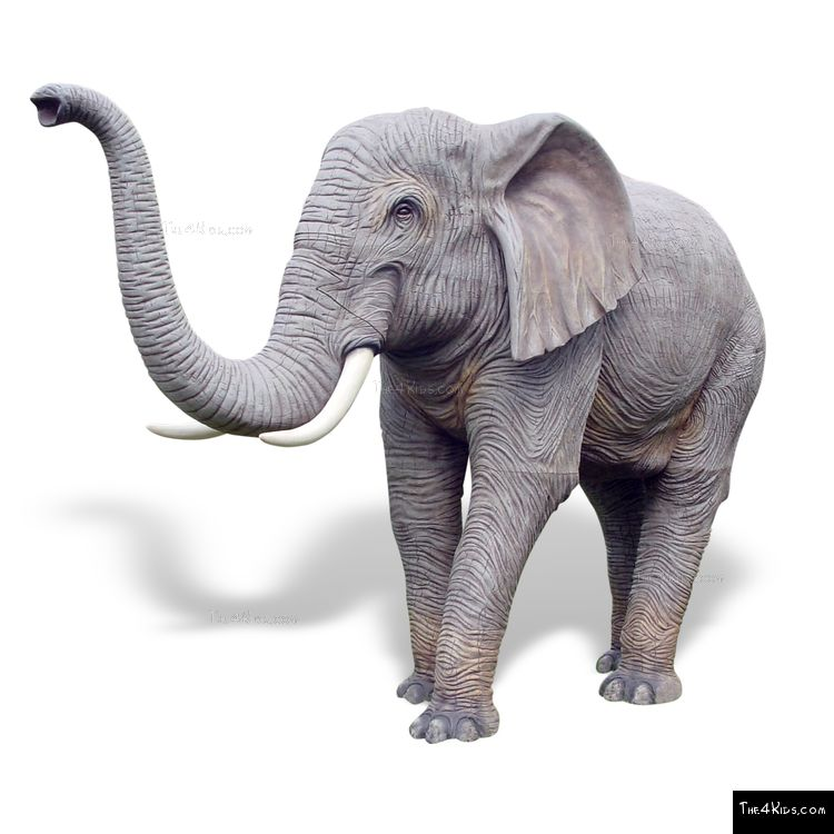 Image of Large Elephant Sculpture