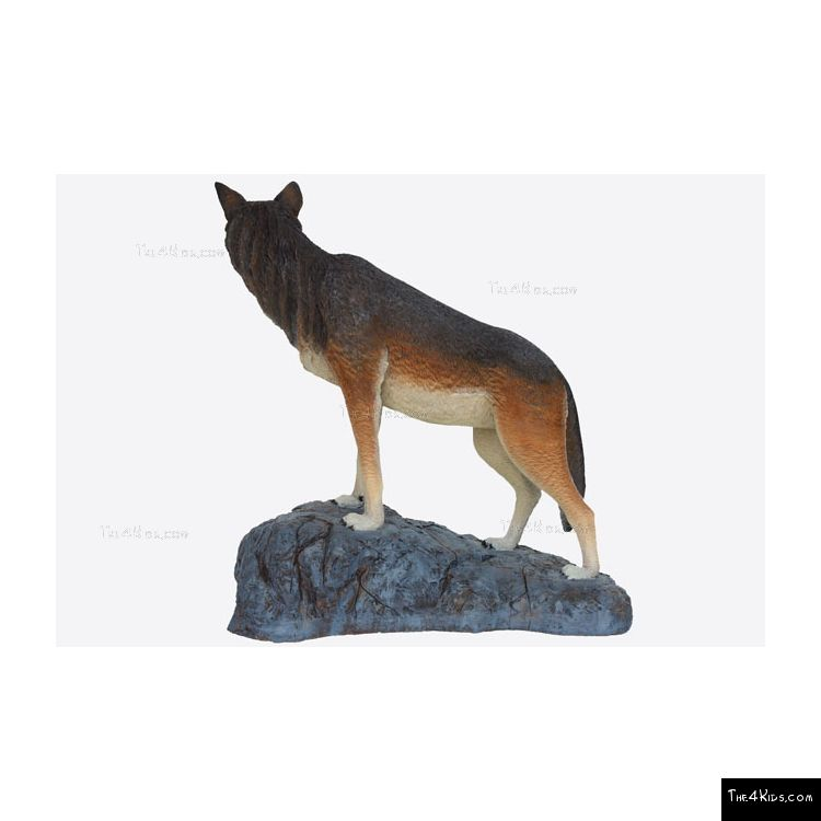 Image of Wolf Sculpture