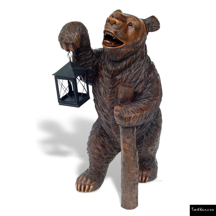 Image of Bear with Lantern