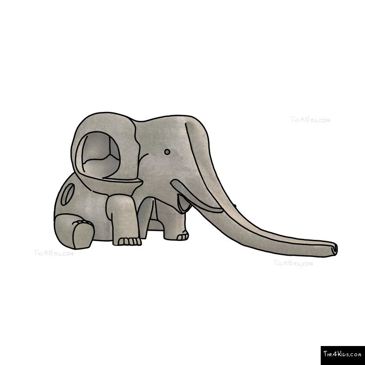 Image of Baby Elephant Slide