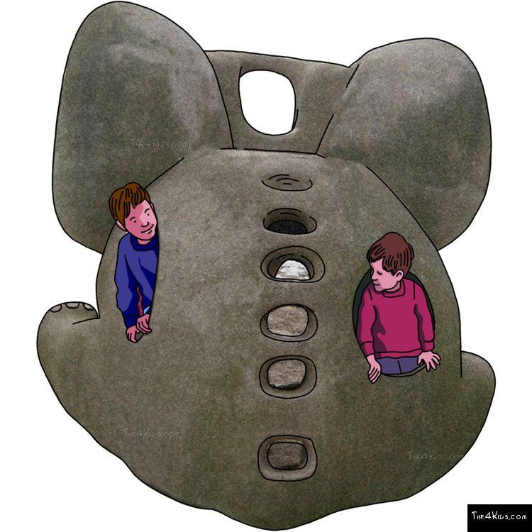 Image of Baby Elephant Slide