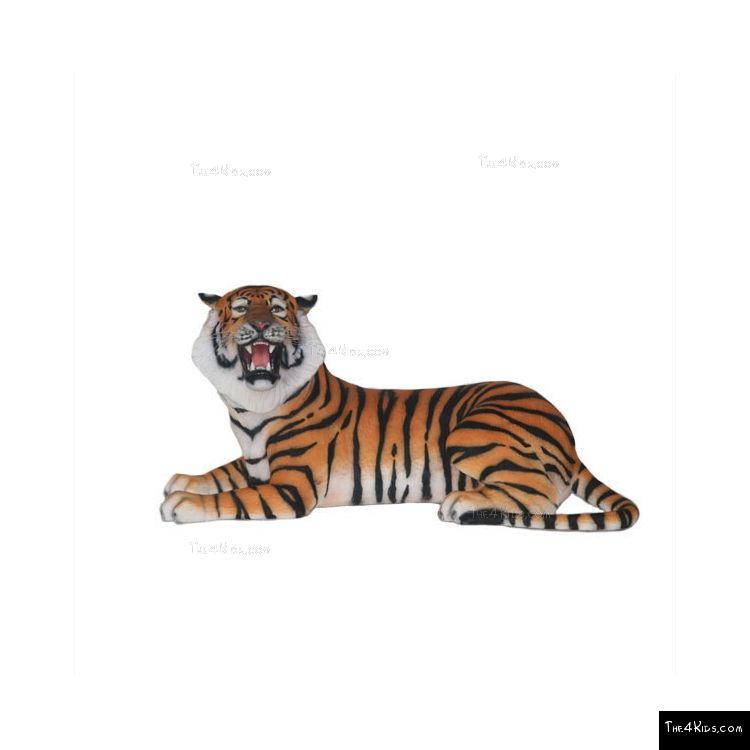 Image of Lying Bengal Tiger