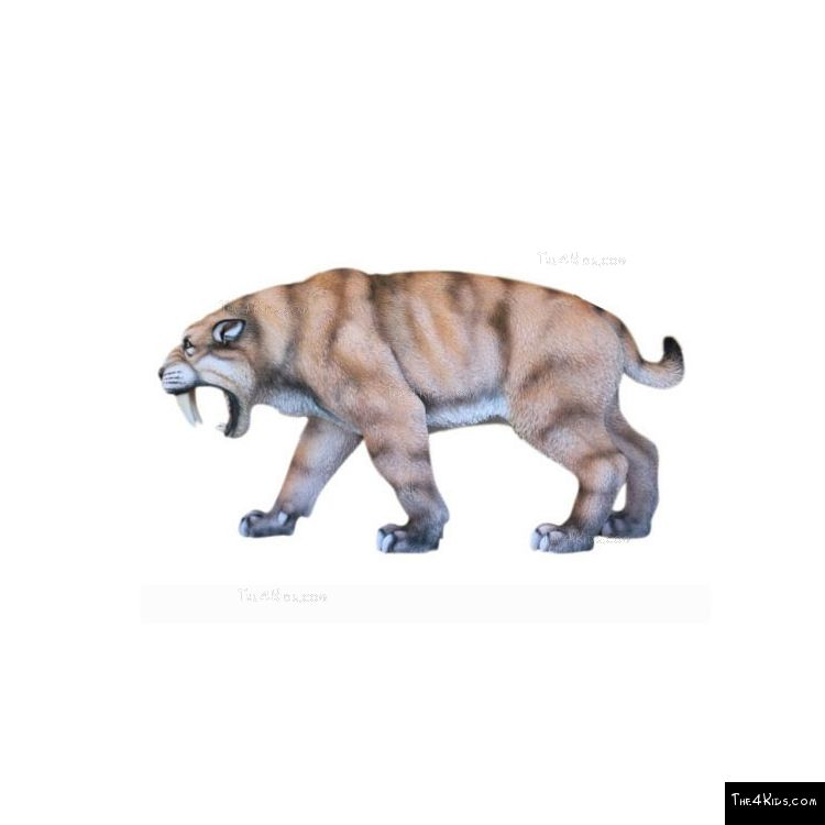 Image of Roaring Saber Toothed Tiger